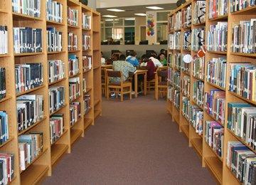Farsi Section at Tajik Library