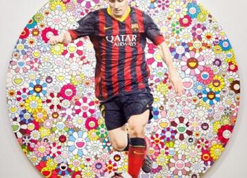 Soccer Art Auction Raises Millions for Charity