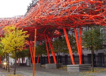 Towering Wooden Sculpture Breaks in European Cultural Capital