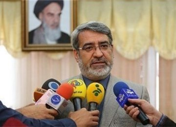 Minister: Iran's Borders Fully Secure