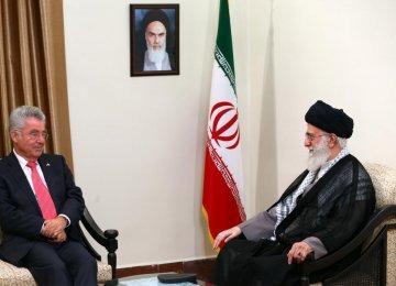 Austrian President Meets Leader