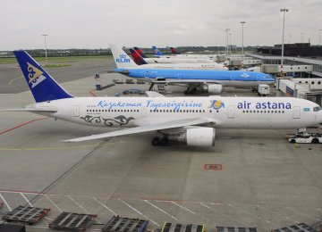 Air Astana to Start Tehran Route