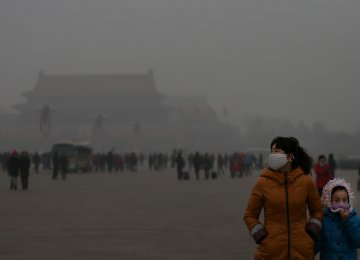 Beijing Air Pollution Hits Hazardous Levels