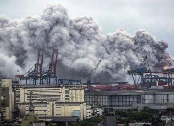 Toxic Cloud in Sao Paulo