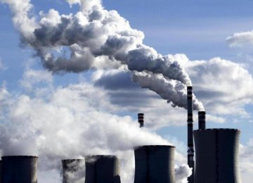 Iran Targets 12% Cut in Greenhouse Gas Emissions