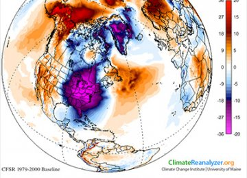 Why is Eastern North America Colder?