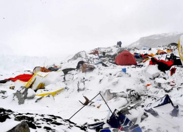 Mt. Everest Reopens Months After Fatal Avalanche