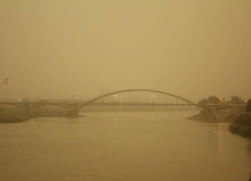 Sources of Dust Storms Increase in Khuzestan