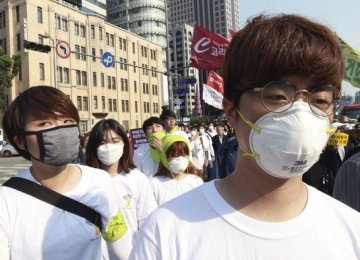 """Hong Kong Issues """"Red Alert"""" Against S. Korea Trave"""