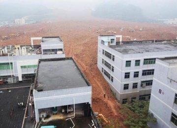 Devastating Mudslide Hits China