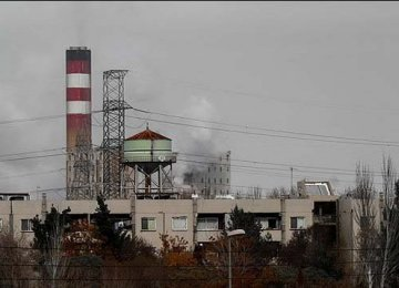 Tabriz Power Plant Closed