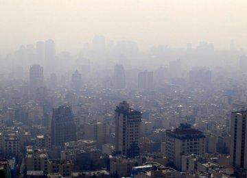 New Academic Year Worsens Tehran Air Pollution