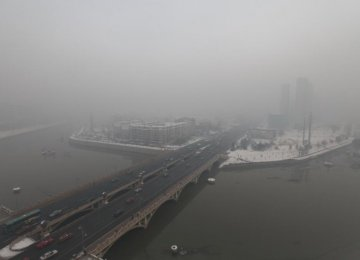 Air Quality Plummets as China Pollution Soars