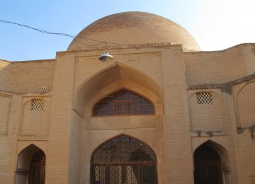 Funding for Ancient  Saveh Mosque Inadequate