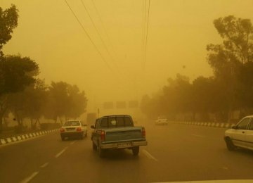 UNEP Approves Global Fund to Fight Dust Storms