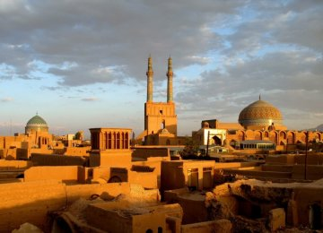 French Support for Yazd's UNESCO Inscription