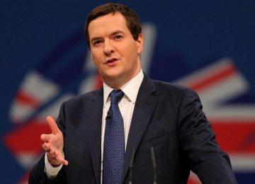 Osborne Sees Global Risks Rising, Sanguine on China