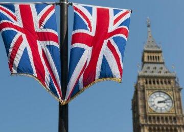 UK Gov't Borrowing Falls