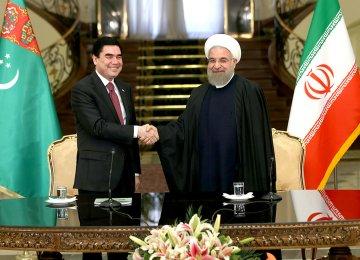 Tehran-Ashgabat Eye $60b Transactions
