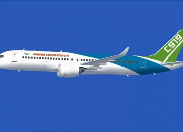 China Jet to Compete With Boeing, Airbus