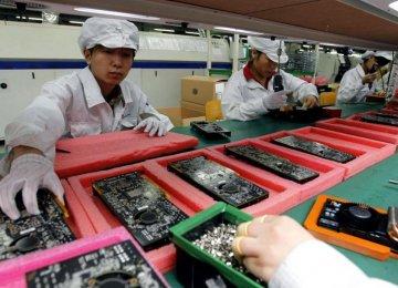 China Manufacturing Weak, More Jobs Cut