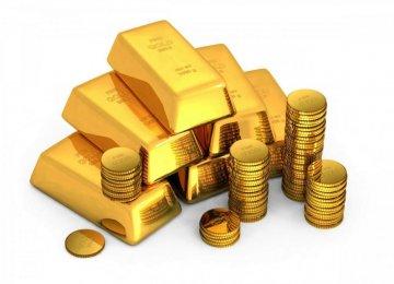 Gold Gains on Flat Dollar