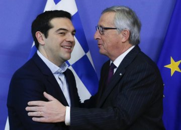 Greece Wobbling on Debt Deal