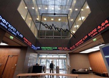 Greece Bank Shares Collapse Masks Economic 'Freefall'