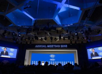 Improving People's Lives Takes Center Stage at Davos