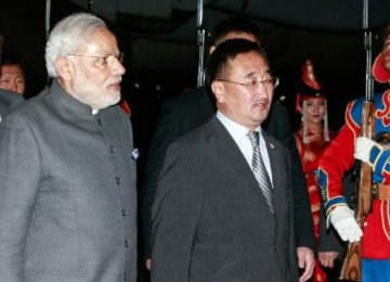 India Gives $1b Credit to Mongolia