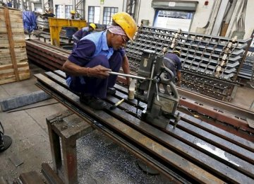 India Factory Output Declines