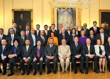India, UK Sign $13b in Deals
