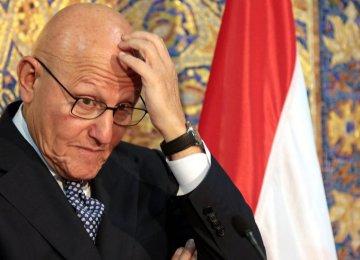 Lebanon PM  Warns of  Economic Collapse