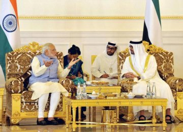 Modi Offers $1t Investment Opportunity to UAE