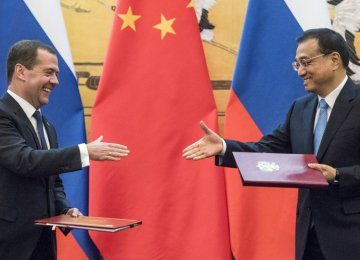 Moscow, Beijing Agree Deals Worth $5b