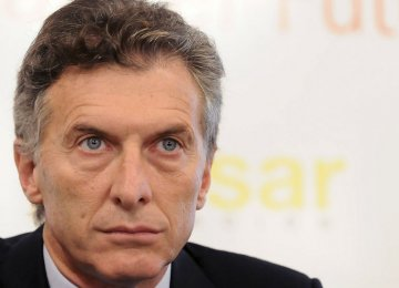 New President Vows to Liberalize Argentine Economy