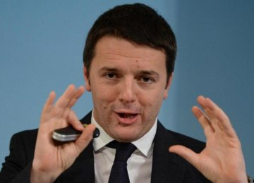 Renzi's Draft Budget Aims to Boost Growth
