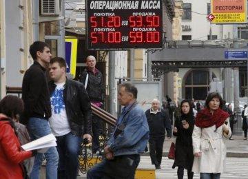 Russia Economy Shrinks