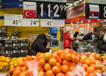 Russia Tightens Turkey Sanctions