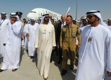 Saab Planes  for UAE