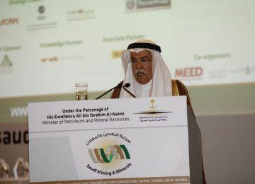 Saudi Mining Sector to Triple by 2030