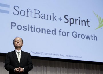 SoftBank Profits Up