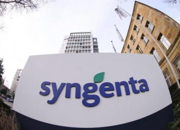 Syngenta Rejects China Offer