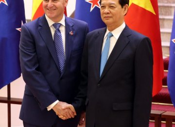 Vietnam, NZ  to Double Trade