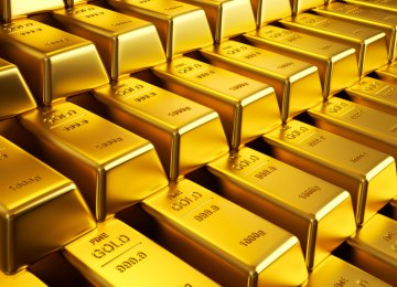 Gold Settles at $1,163.5
