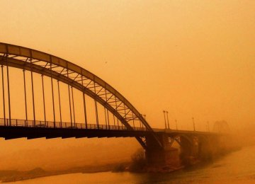 Dust Storms Attributed to Oil Exploration