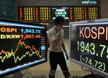 Asian Markets Lower