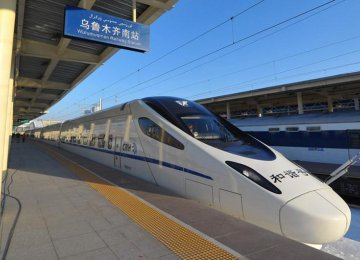 China, US in High-Speed Train Project