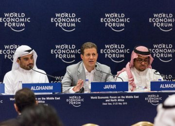 Companies at WEF Commit  to Train 100,000 Youth