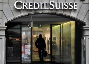 Credit Suisse May Cut Bonus